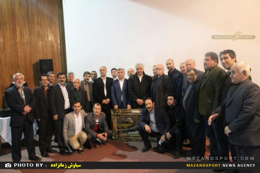 مراسم گرامیداشت سالگرد جهان پهلوان تختی با حضور محمد رضا طالقانی در رامسر
