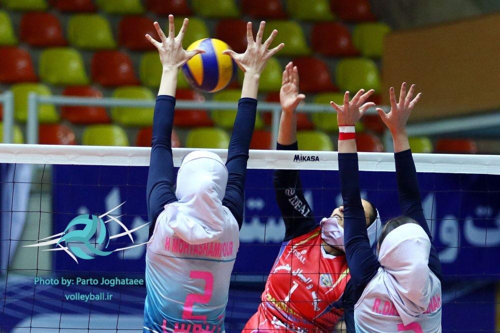 شکست مازندران در روز نخست مسابقات والیبال دسته یک نوجوانان دختر کشور
