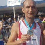 عنوان سومی علی اصغر فاضلی ورزشکار رامسری در این مسابقات +تصاویر