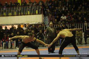 مسابقات کشتی گیله مردی بایادونام زنده یاد محمد عسگریان