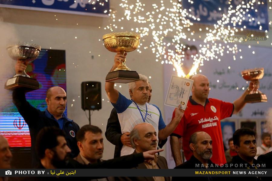 بهشهر قهرمان مسابقات کشتی آزاد جام شهید هاشمی نژاد شد+نتایج