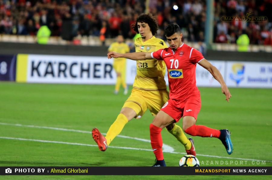 جام باشگاه های آسیا /  پرسپولیس تهران و  الوصل امارات