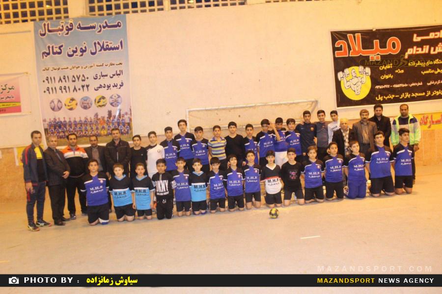 جشنواره مسابقات جام فرزانگان مینی هندبال پسران استان مازندران در رامسر