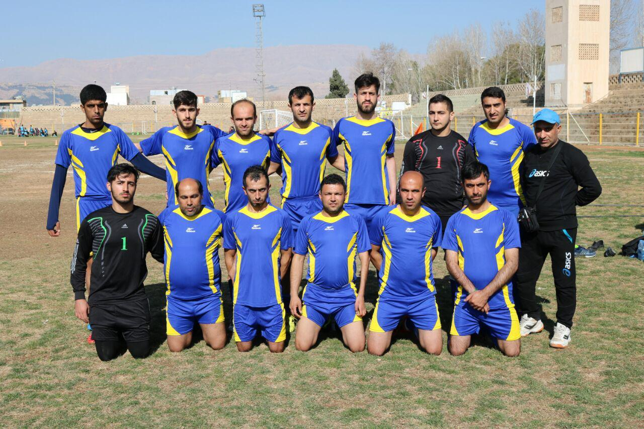 تیم فوتبال هفت نفره نور حذف شد / گل های جنگجو مانع حذف نشد !