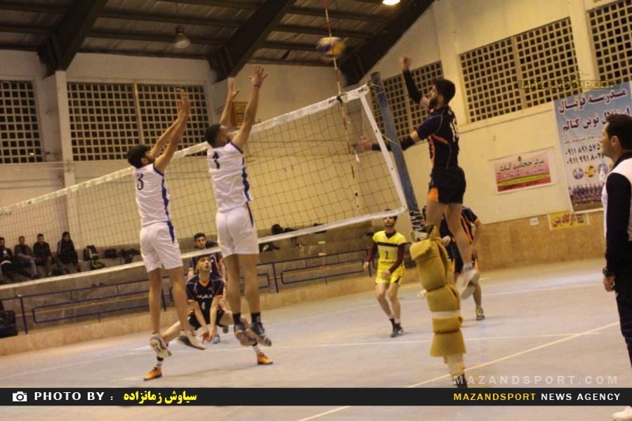 لیگ  والیبال جوانان استان مازندران یادواره شهدای مدافع حرم استان در رامسر