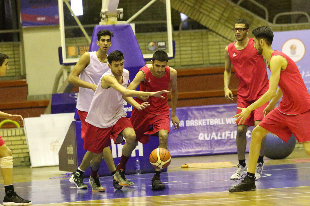 اردوی آماده سازی تیم ملی بسکتبال جوانان در مازندران آغاز شد