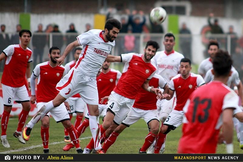 گزارش تصویری دیدار تیم های خونه به خونه و شهرداری تبریز