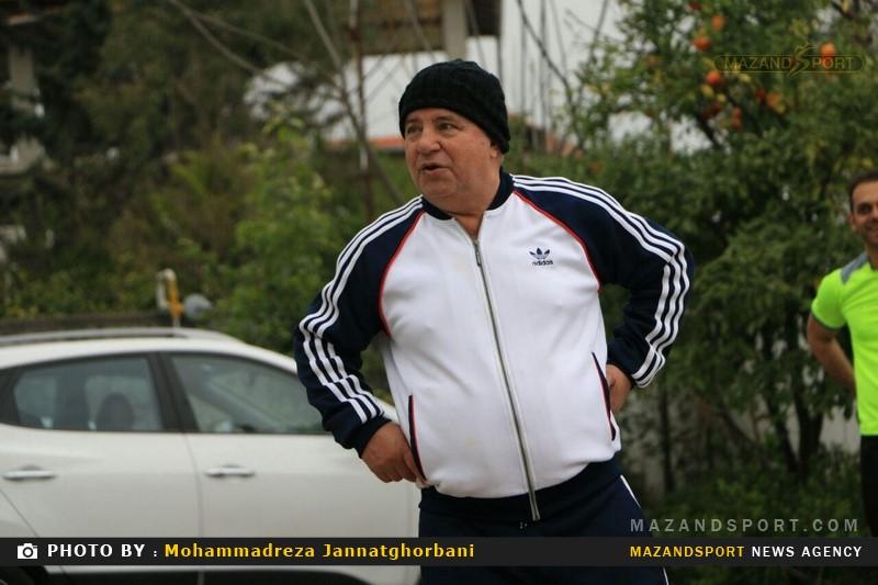 تعطیلات والیبالی علی پروین پیشکسوت محبوب پرسپولیس در رامسر!