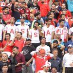 گزارش تصویری از شادمانی بازیکنان و هواداران نساجی مازندران پس از صعود به لیگ برتر