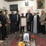 اعضای هیات فوتبال مازندران با خانواده شهید مدافع حرم محمد معافی دیدار کردند + تصاویر