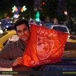 جشن و پایکوبی قائمشهری ها با صعود تیم نساجی به لیگ برتر/عکاس : احمدقربانی