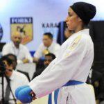 انتخابی تیم ملی کاراته بانوان برگزار شد/زهره برزگر آمد !