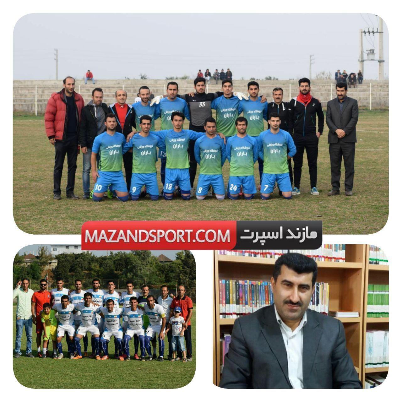 فقیه :هدف ما استفاده و کسب تجربه فوتبالیست های جوان جویباری است
