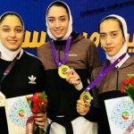 زهرا پواسماعیل مدال طلا رقابتهای بین المللی جام فجر را بدست آورد