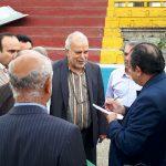 در بازدید ناظر ویژه AFC از استادیوم شهید وطنی قائمشهر چه گذشت !؟ + تصاویر