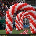 حواشی تصویری جشن صعود نساجی/حضور بانوان در گوشه کنار استادیوم به صورت مخفیانه !