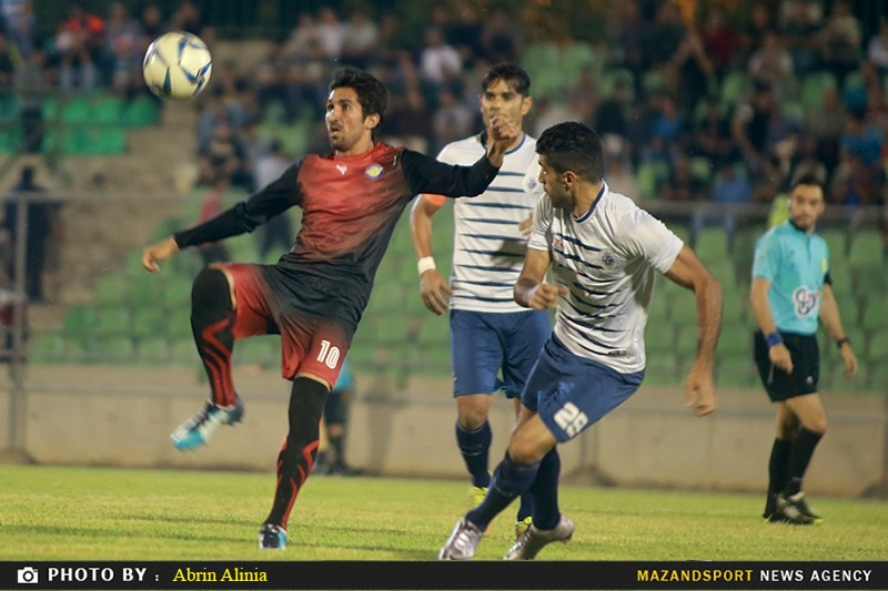 تصاویر شب تلخ استادیوم شهدای ساری با ناکامی شهید مولایی قراخیل