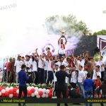 جشن صعود تیم فوتبال نساجی به لیگ برتر در قائمشهر برگزار شد /عکاس: احمد قربانی