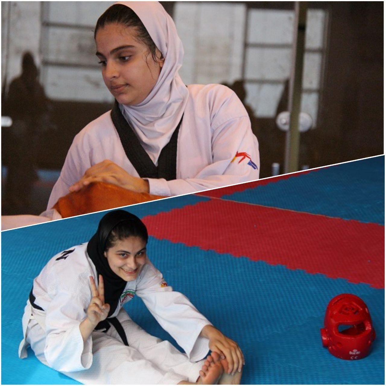 آمادگی مهسا کیادلیری و غزل مهدوی برای حضور در بازیهای المپیک نوجوانان