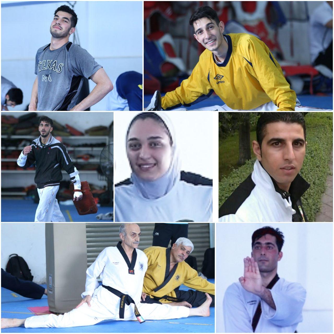 تکواندو خوش زرق و برق مازندران در رقابتهای آسیایی/۷ تکواندوکار ۷ مدال