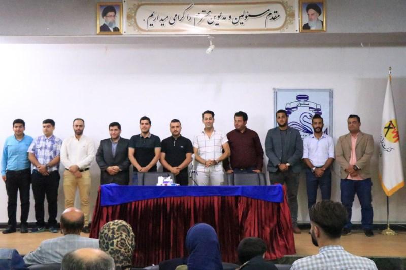 مراسم افتتاحیه باشگاه فرهنگی ورزشی ملوان ساری باشکوه خاصی برگزار شد