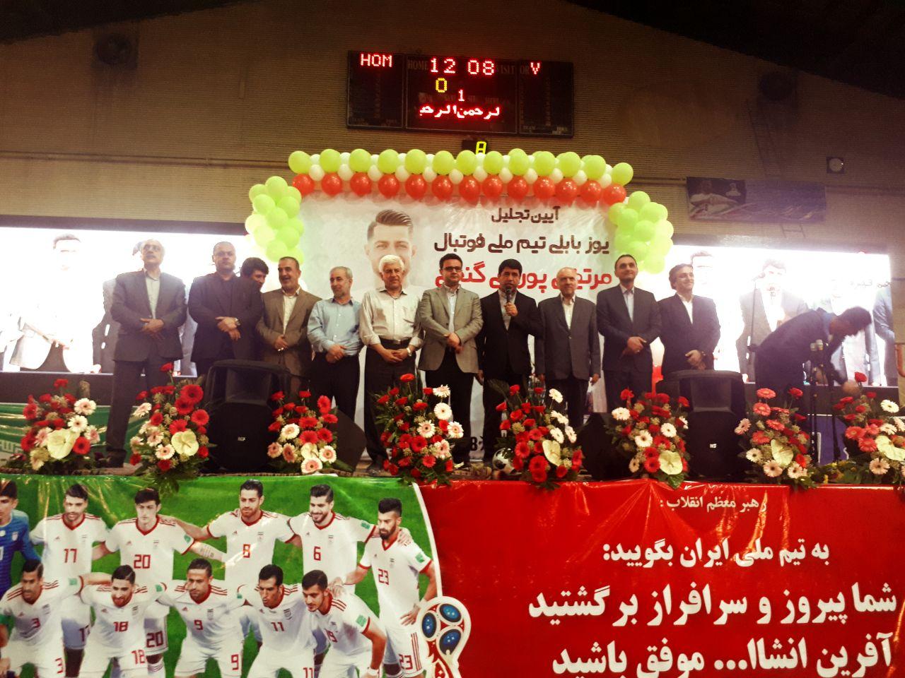 با حضور پرشور مردم و مسئولین؛مراسم استقبال و تجلیل از مرتضی پور علی گنجی در بابل با شکوه برگزار شد