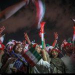 جشن و شادی مازنی ها در شب پیروزی تیم ملی فوتبال