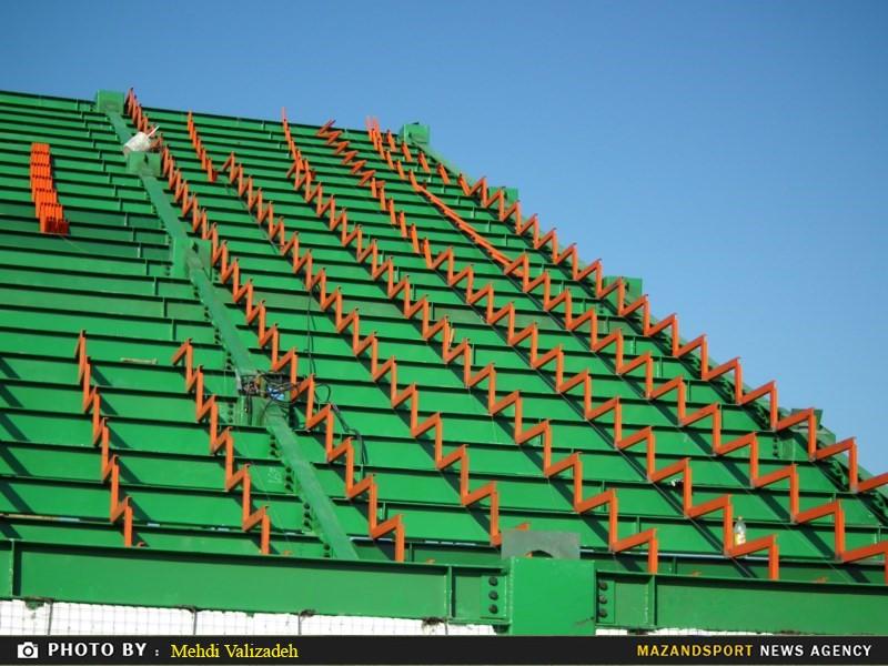 استادیوم شهید وطنی قائمشهر در چه وضعیت است !؟