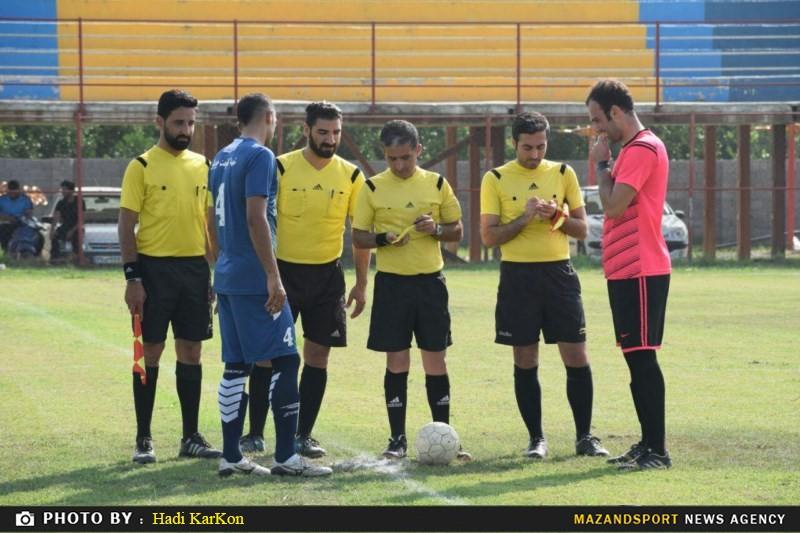 تساوی شهروند رامسر و شهدا مقاومت جویبار در لیگ برتر فوتبال مازندران