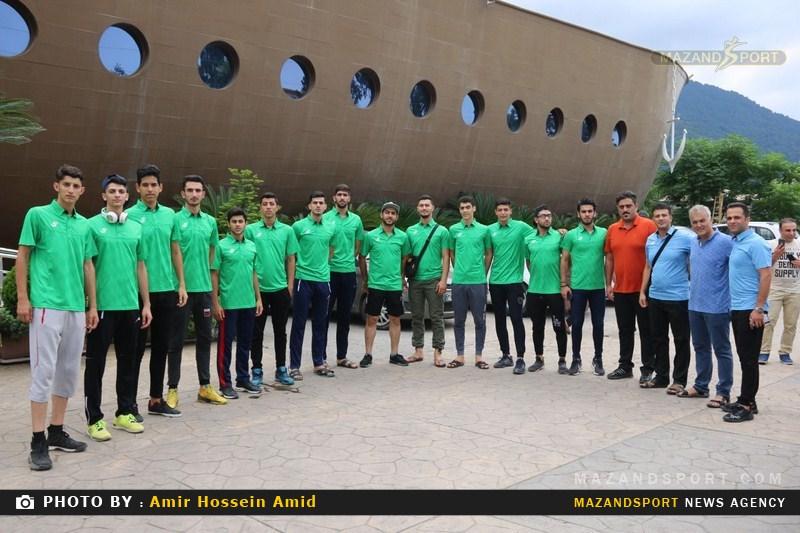 آخرین مرحله اردوی تیم والیبال نوجوان مازندران در رامسر برگزار شد + تصاویر