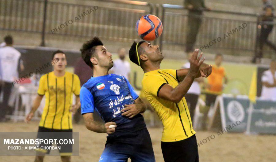 تصاویر پیروزی شهریار ساحلی برابر ملوان بندرگز / عکاس: احمد قربانی