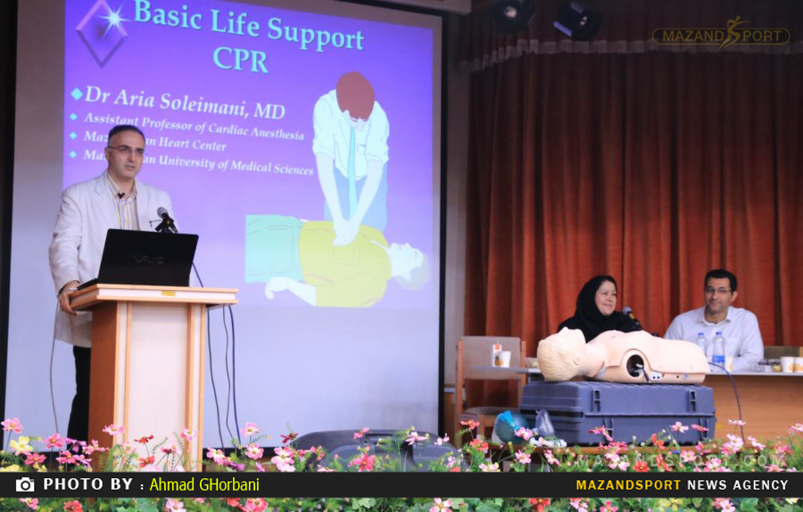 کنفرانس علمی تازه های پزشکی در فوتبال با حضور دکتر سیف در مازندران برگزار شد