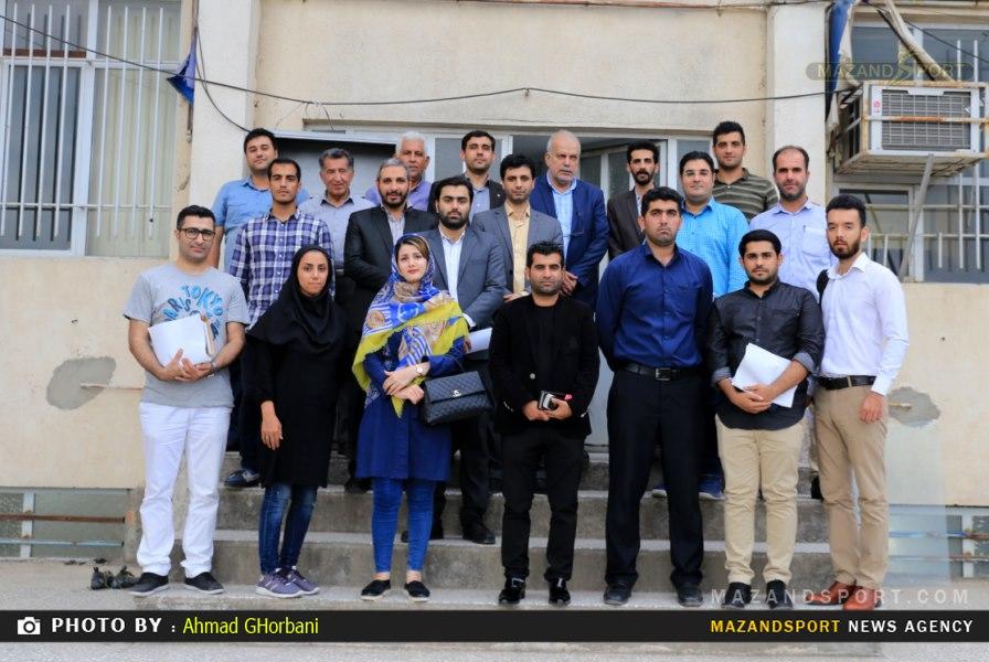 دومین نشست تخصصی مدیران روابط عمومی فوتبال مازندران به میزبانی شهرستان آمل برگزار شد/عکاس:احمدقربانی
