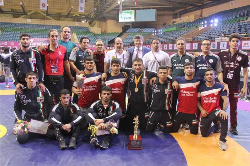 آزادکاران جوان ایران با ۹ مدال طلا و برنز قهرمان شدند