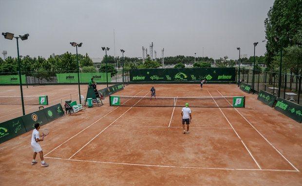 مسابقات تنیس لیگ آیندهسازان کشور در ساری آغاز شد