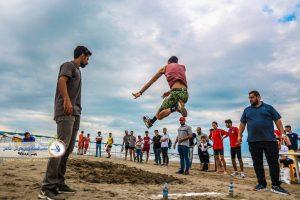 تصاویری دیدنی از برگزاری دومین دوره ی المپیاد ورزش های آبی ساحلی بابلسر