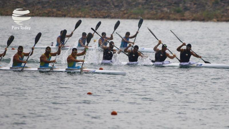 تیم ۴ نفره قایقرانی آبهای آرام ایران با حضور  امین بوداغی فینالیست شد