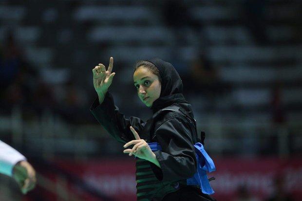 ناکامی دختر مازنی از کسب مدال / میر محمد تبار حذف شد !