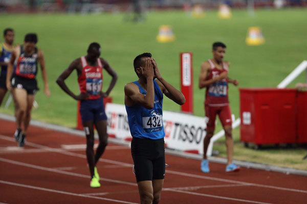 امیر مرادی: هدفم کسب مدال بود/ یک ثانیه رکوردم را ارتقا دادم