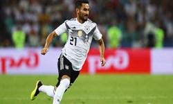 گوندوغان:حضور در تیم ملی آلمان افتخار است