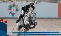 تیم سوارکاری ایران در بخش پرش تیمی راهی مرحله نهایی شد