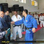 تصاویر  تیم ملی جودو ایران پس از هفت روز برگزاری اردوی تمرینی در شهرستان رامسر