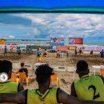 تصاویری دیدنی از روز سوم دومین دوره المپیاد ورزش های آبی ساحلی در بابلسر