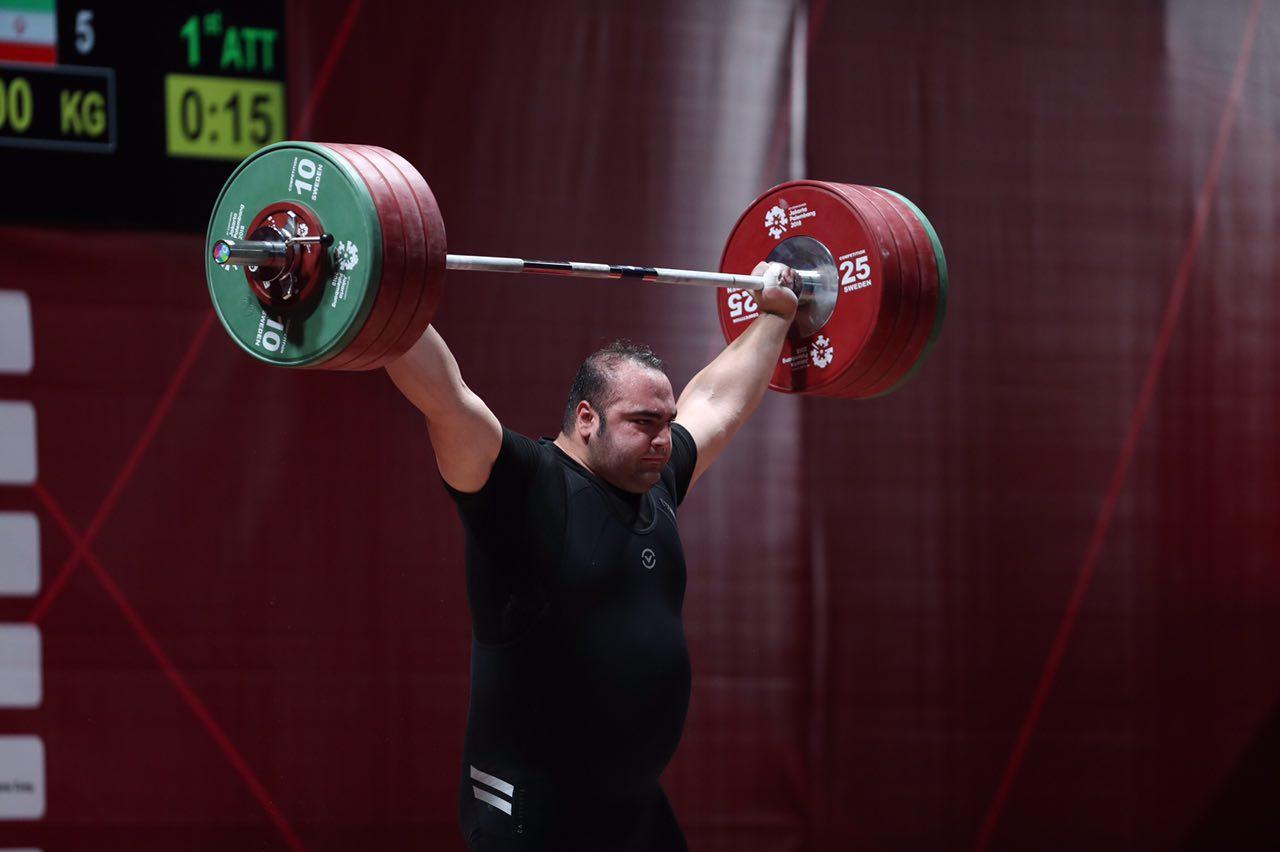 بازهم قویترین مرد مسابقات ایرانی شد/ بهداد سلیمی طلا گرفت و خداحافظی کرد