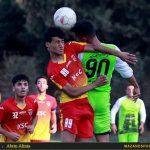 تصاویر دیدار امیدهای خونه به خونه و  فولاد خوزستان در لیگ برتر امیدهای کشور