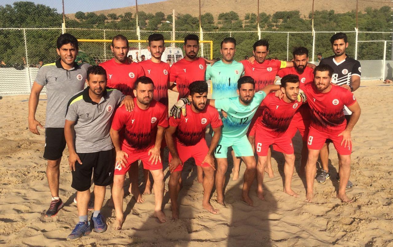 قطعی شدن صعود تیم فوتبال ساحلی نوشهر به لیگ برتر فوتبال ساحلی