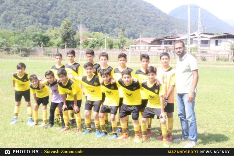 فیستوال زیر سیزده سال مدارس فوتبال شهرستان رامسر برگزار شد