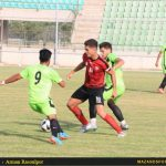 گزارش تصویری دیدار ملوان ساری و پرسپولیس قائمشهر در لیگ امیدهای کشور