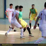 تصاویر دربی آریو ساری و شهید عرفان ساری در لیگ برتر فوتسال مازندران