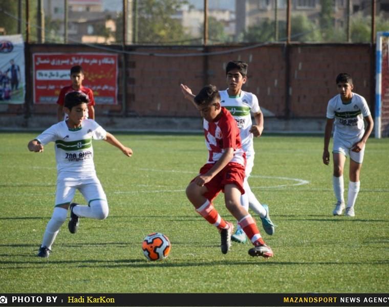 گزارش تصویری دیدار سرخپوشان ساری و ذوب آهن نسل جوان مشهد در لیگ نونهالان کشور